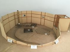 Replica of a Goguryo's Bastion(구의동 보루), the Museum of Seoul National University