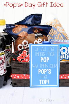 """""""Pop's"""" Day Gift Idea - Crazy Little Projects"""