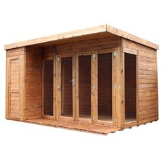 find mercia premium wooden garden room with side shed x at homebase visit your local store for the widest range of garden products - Garden Sheds Homebase