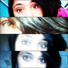 Olhos (: