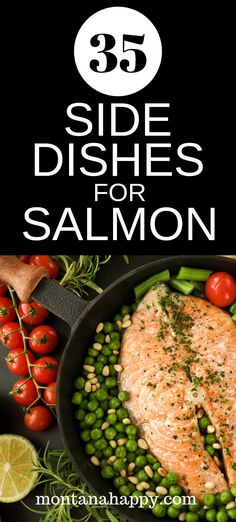 May 2019 - 35 Easy Side Dishes for Salmon will give you some ideas for the perfect recipe to go with your main event. Veggies, potatoes, gluten-free, and keto friendly are all featured in this list. Side Dishes For Salmon, Dinner Side Dishes, Dinner Sides, Healthy Side Dishes, Side Dishes Easy, Side Dish Recipes, Healthy Sides, Fish Side Dishes, Salmon Recipes
