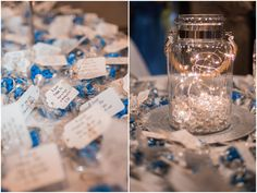 Wedding Reception Candy Favors | Elizabeth Henson Photos