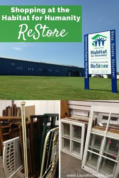 Save money on home renovations with the Habitat for Humanity ReStore!