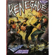 Renegade for Amstrad CPC by Imagine on Tape