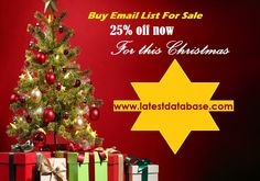 Black Friday Special Offer Latest Mailing Database off now for this Christmas Cupon code: