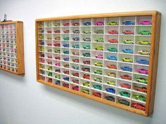 Hot Wheels Display Case for 100 cars