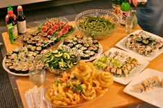 Lets have a Sushi Party