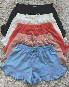 Luxury lingerie e Intimo Cute Comfy Outfits, Trendy Outfits, Summer Outfits, Sporty Outfits, Teen Fashion Outfits, Womens Fashion, Mode Hijab, Luxury Lingerie, Cute Shorts