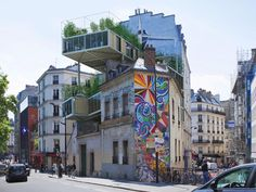 """""""Parasitic"""" apartments are taking over Paris's rooftops, which could change the future of housing in the City of Light forever. 