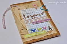 Caderno - Happy Little Things - ScrapBi