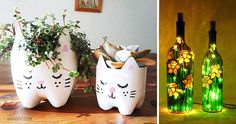The 20 coolest decor ideas using ordinary bottles