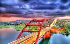 The 360 Bridge on Capitol Of Texas HWY  Austin, Texas