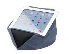 Loungies TabletZz de perfecte ondersteuning, daardoor kunt u ontspannen met uw tablet, e-reader ipad Tabletkussen Boekenkussen Boekenstandaard Boekenpoef.