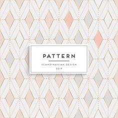 スカンジナビアシームレスパターン Premiumベクター   Free Vector #Freepik #freevector #pattern #cover #texture #ornament