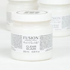 Fusion Clear Glaze can be mixed with any fusion color and added over a painted surface to accent details or give an aged look. Wipe On Poly, Mineral Paint, Online Painting, Light Colors, Colours, Painted Furniture, Glaze, Paint Colors, At Least