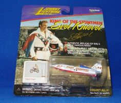 Johnny Lighting King of the Stuntmen Evel Knievel Snake River Canyon X-2 Sky Cycle (#2 in Series of 4)