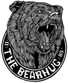 BEAR NO.2 - BEARHUG LOGO T - Luke Dixon Artist