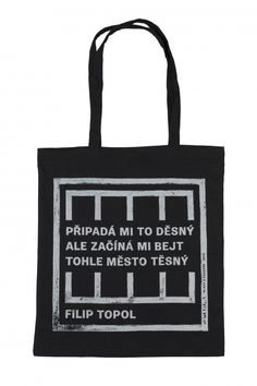 Taška Filip Topol - černá