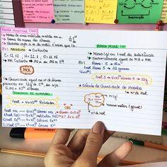 QUÍMICA - Unidade de Massa Atômica 💟 #resumosonhodamedicina #quimica Study Organization, Chemistry, Bullet Journal, Notes, School, Instagram, Atomic Mass Unit, Teaching Chemistry, Studios