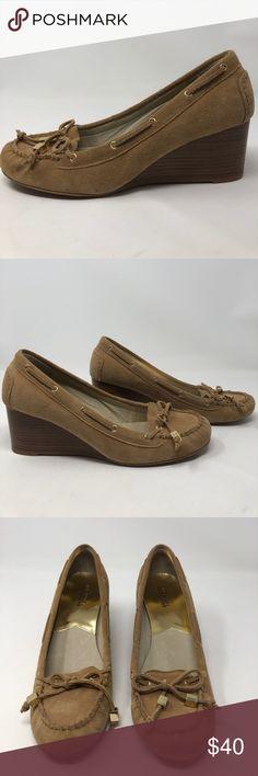 Michael Kors Wedge Loafer Size 9M Michael Kors Wedge Loafer Size 9M Michael Kors Shoes Wedges