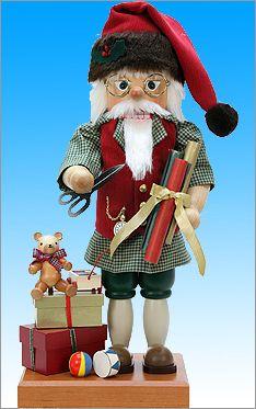 Santa at Work Nutcracker