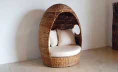 「FARGO/Egg Sofa」KAJAリゾートファニチャー アジアン家具 ソファ