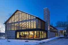 Brooklin Community Centre And Library in Brooklin, Ontario, Canada; designed by Perkins + Will