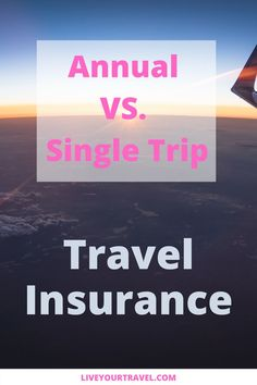 5 Tips on how to find the best travel insurance for your needs. Does annual travel insurance pay off for you, or should you rather get Single Trip insurance? Find out more in this ultimate guide. #travelinsurance #traveltips #travel