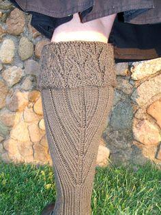 Toirneach kilt hose - Winter 2007 - Knitty -free knitting pattern