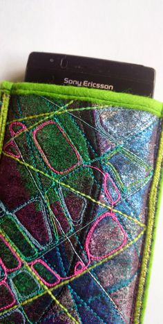Green Abstract Phone Case