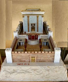 File:Model of Second Temple made by Michael Osnis from Kedumim 2.jpg