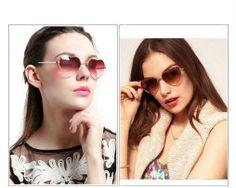 Moderné polarizované slnečné okuliare v tvare srdca