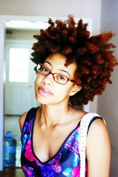 Funky #afro #naturalhairstyle. Loved by Neno Natural