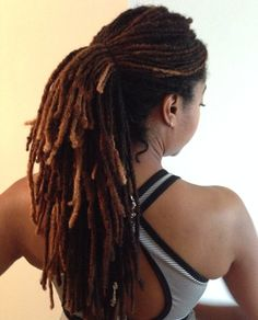 These loose, flexible, simple ponytail holders are best for locs, twists or braids and great for keeping Locs off your back at the gym or out in this summer hea