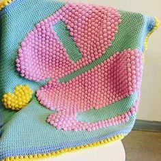 flamingpot crochet texutre blanket