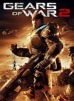Exclusive to Xbox Gears of War 2 sees players continue as Marcus Fenix, a reluctant war hero and leader of Delta Squad, six months after the events of Gears of War. Xbox 360 Video Games, Latest Video Games, Xbox Games, Epic Games, Playstation Games, Awesome Games, Arcade, Microsoft, Gears Of War 2