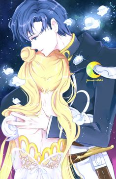 Imagen de sailor moon, princess serenity, and prince endymion Sailor Moon Fan Art, Sailor Moon Usagi, Sailor Jupiter, Sailor Moon Crystal, Sailor Mars, M Anime, Anime Love, Anime Art, Vocaloid