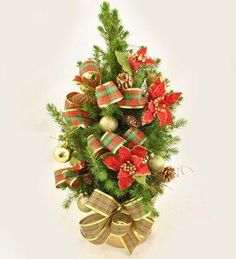 Bradut impoobit in ghiveci - 30 cm Christmas Wreaths, Holiday Decor, Home Decor, Decoration Home, Room Decor, Home Interior Design, Home Decoration, Interior Design