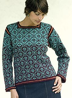 Nordic Stars pattern by Candace Eisner Strick
