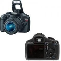 Canon EOS Rebel T3 12.2 MP CMOS Digital SLR with 18-55mm IS II Lens (Black) + Canon EF 75-300mm f/4-5.6 III Telephoto Zoom Lens + 58mm 2x Telephoto lens + 58mm Wide Angle Lens (4 Lens Kit!!!) W/16GB SDHC Memory + Extra LPE10 Battery/Charger + 3 Piece Filter Kit + Full Size Tripod + Accessory Kit