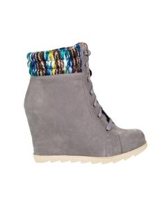 Grey Faux Suede Concealed Heel Coloured Cuff Boots Boot Cuffs, Footwear, Wedges, Heels, Boots, Sneakers, Shopping, Collection, Color