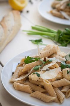 Lemon Chicken Pasta Toss
