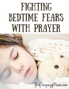 Is your child fearful of the dark or bad dreams? I've spent many nights with a scared kid, here's some ways to help them conquer that fear with prayer.