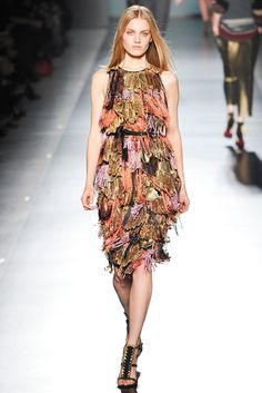 Etro Fall 2009 Ready-to-Wear Fashion Show - Anna Jagodzinska