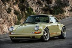 "Singer Vehicle Design ""Manchester"" Porsche 911. Fully restored 1990 911 with a 3.0-liter 390 horsepower engine."