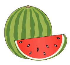 This clip art is in the public domain so use it freely on whatever project of yours that require the use of a watermelon image. Description from clipartlord.com. I searched for this on bing.com/images