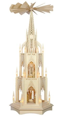 gorgeous christmas pyramid the dome with 3 floors 143cm56in by - German Christmas Pyramid Kit