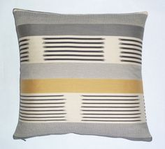 Knoll+Textiles++Modern+accent+pillow++17+x+17+by+MaiaModern,+$89.00