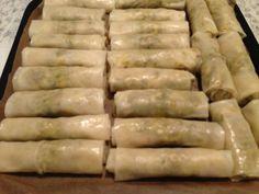Forårsruller – Mad for Galleriet Asian Recipes, Ethnic Recipes, Spring Rolls, Empanadas, Foodies, Sausage, Snacks, Meat, Dinner