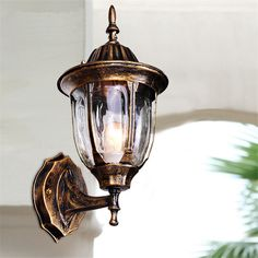 Cheap wall sconce, Buy Quality wall light directly from China antique wall sconce Suppliers: Outdoor Wall Lights Garden Pathway Antique Wall Sconce Aluminum Industrial Mini Chandelier Lighting Brown Vintage Mini LED Lamp Outdoor Wall Lamps, Outdoor Light Fixtures, Outdoor Walls, Outdoor Areas, Porch Lighting, Wall Sconce Lighting, Chandelier Lighting, Lighting Ideas, Outdoor Lighting